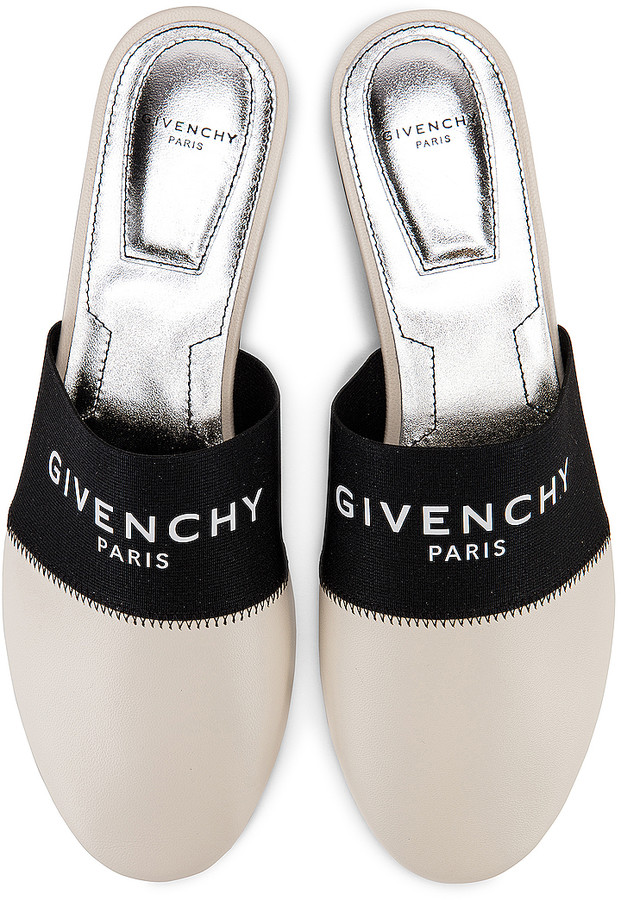 Givenchy Bedford Flat Mules in Skin | FWRD