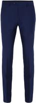 Oxford Auden Wool Trousers Brght Blu X