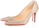 Christian Louboutin Decollete 554 Strass 85 Version Doudou Strass - Women Shoes
