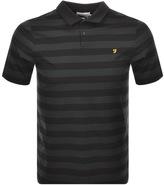 Farah Peppiat Merc Polo T Shirt Black
