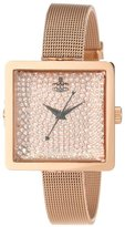 Vivienne Westwood Women's VV053RSRS Lady Cube Rose Gold-Tone Stainless Steel Watch