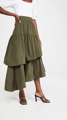 Aje Interlace Midi Skirt