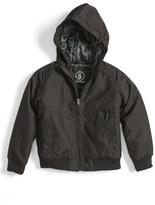 Volcom Boy's Hernan Hooded Jacket