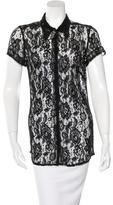 Dolce & Gabbana Lace Sheer Top