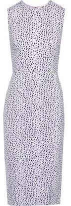 Diane von Furstenberg Alina Printed Cady Dress