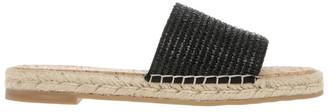 Piper Congo Black Raffia Sandal