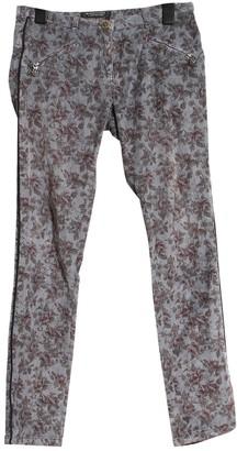 Maison Scotch Grey Cotton - elasthane Jeans for Women
