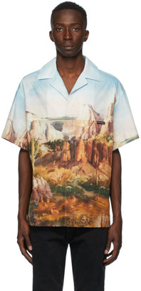Palm Angels Multicolor Canyon Bowling Shirt