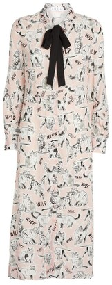 Claudie Pierlot Feline Shirt Dress