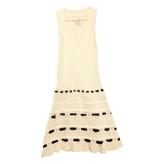 Valentino White Cotton Dress