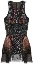 Mary Katrantzou Juno embellished silk-georgette dress