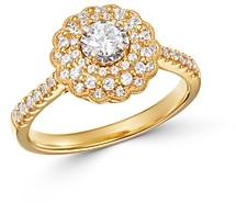Bloomingdale's Diamond Milgrain Engagement Ring in 14K Yellow Gold, 0.60 ct. t.w. - 100% Exclusive