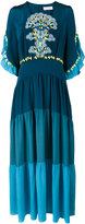 Peter Pilotto guipure lace maxi dress - women - Silk/Polyester - 8