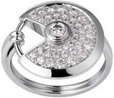 Cartier Small White Gold and Diamond Amulette de Ring