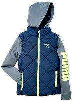 Puma Boys 8-20) Twofer Jacket