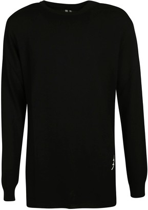 Rick Owens Oversized Round Neck Sweater