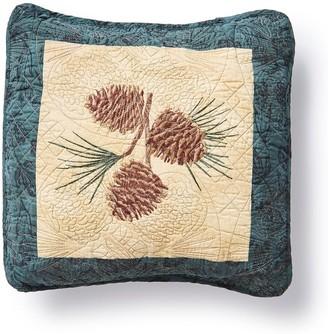 """Donna Sharp Cabin Raising Pine Cone """"Pine Cone"""" Decorative Pillow"""