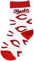 For Bare Feet Toddlers' Cincinnati Reds All Over Socks