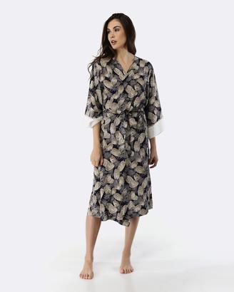 Deshabille Pineapples Robe