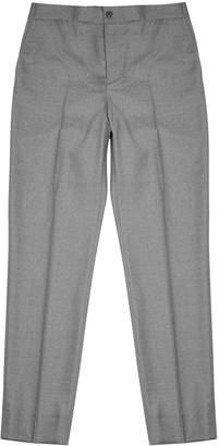 J. Lindeberg Sasha grey stretch-wool trousers