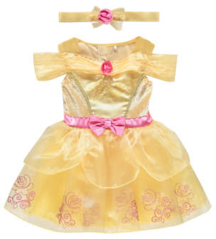 Bell George Disney Princess e Baby Fancy Dress Costume