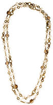 Chanel Long Gripoix Pearl Necklace