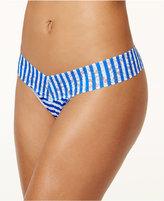 Hanky Panky Brenton Stripe Lace Low-Rise Thong 2V1585