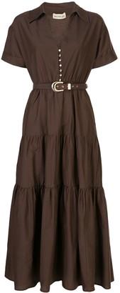 Nicholas Tiered Shirt Dress