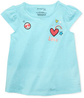 First Impressions Patch-Print Cotton T-Shirt, Baby Girls (0-24 months), Created for Macy's