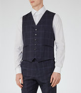 Reiss Bullard W Tonal Check Waistcoat
