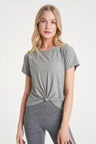 Thumbnail for your product : We Over Me Foundation Crew Front Tie T-Shirt