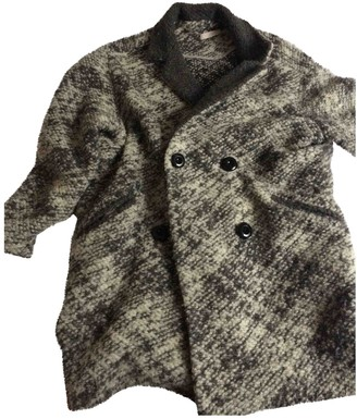 Gat Rimon Grey Wool Coats