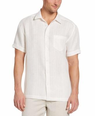 Cubavera Textured Linen Shirt