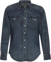 Ralph Lauren RRL Buffalo Western Cotton-Chambray Shirt