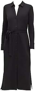 Lafayette 148 New York Women's Midweight Matte Jersey Shirtdress