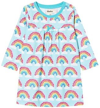 Hatley Magical Rainbows Nightdress (Toddler/Little Kids/Big Kids) (Aqua) Girl's Pajama
