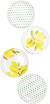 Kate Spade Lemon Melamine Coaster Set