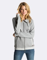 Roxy Womens Shoal Zipped Fleece Jumper
