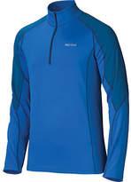 Marmot Men's ThermalClime Pro LS 1/2 Zip - Peak Blue/Blue Sapphire Baselayers