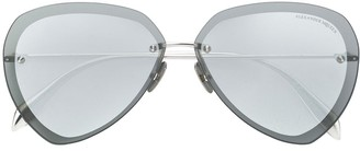 Alexander McQueen Piercing Shield Frame sunglasses