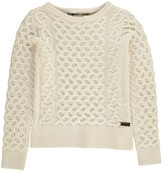 Burberry Cable Knit Pullover