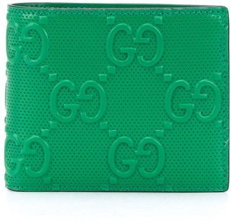 Gucci GG embossed cardholder wallet
