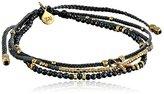 Tai Multi-Strand Beaded Wishbone Charm Bracelet, 2.5