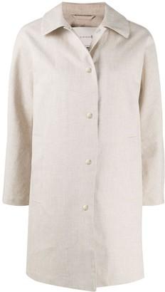 MACKINTOSH Rora RAINTEC single-breasted coat