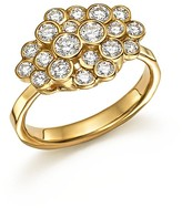 Ippolita 18K Yellow Gold Glamazon® Stardust Bezel Cluster Ring with Diamonds