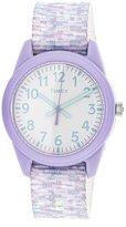 Timex Girl's TW7C12200 Nylon Analog Quartz Fashion Watch