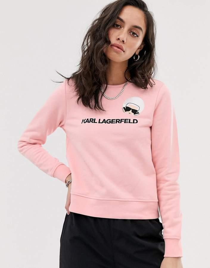 Karl Lagerfeld Paris dots ikonik sweatshirt