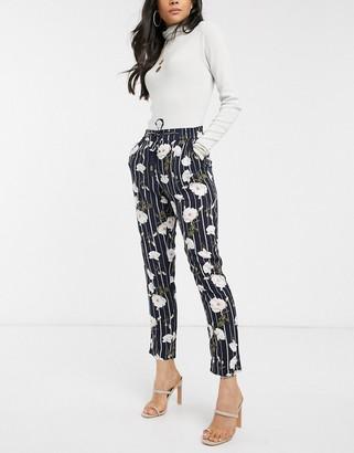 Vero Moda stripe pants-Multi