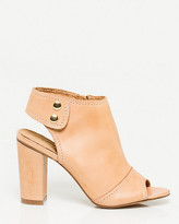 Le Château Leather Peep Toe Shootie