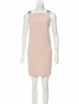 Genny Embellished Mini Dress Pink